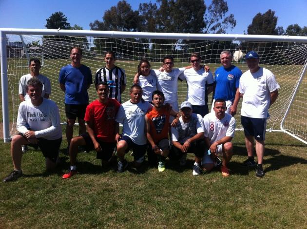 coaches attending NSCAA coaching course in Santa Rosa, California