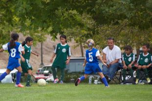 Free Soccer Clinic for Girls Ages 5-10 Oct 26, Sponsored by the Lady Oaks