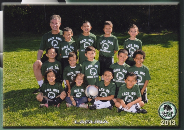 Santa Rosa Black Oaks Youth Soccer Club - Team: Black Oaks Laguna
