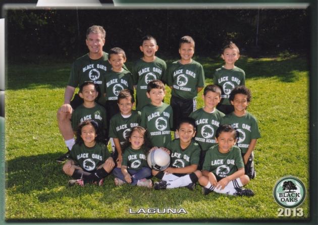 Santa Rosa Black Oaks Youth Soccer Club - Team: Black Oaks Laguna