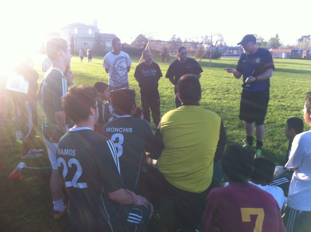 Santa Rosa Black Oaks Soccer Club - Youth Coaching