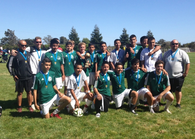 Black Oaks Youth Soccer Club - U16 FC win Gold Tournament